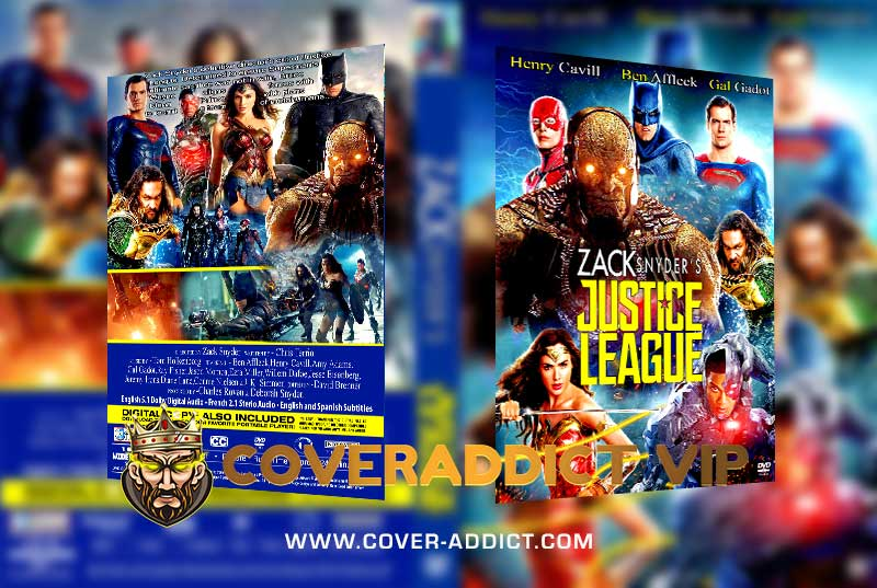 Zack Snyders Justice League v2 2021 DVD Cover