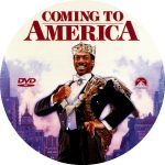 Coming to America (1988) DVD Label