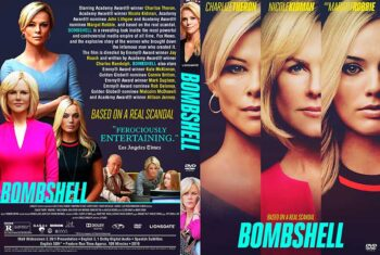 Bombshell 2019 DVD Cover