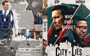 City of Lies 2021 DVD Cover