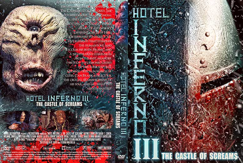 Hotel Inferno 3 The Castle of Screams 2021 DVD Cover