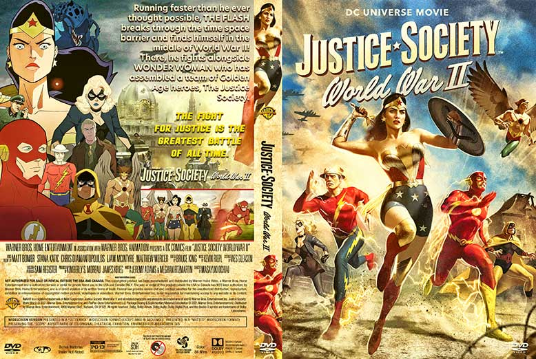 Justice Society World War II 2021 DVD Cover