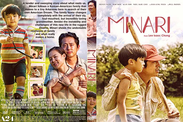 Minari 2021 DVD Cover