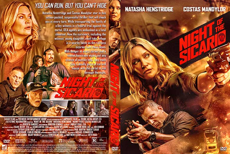Night of the Sicario 2021 DVD Cover