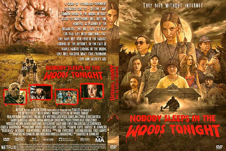 Nobody Sleeps in the Woods Tonight 2020 DVD Cover