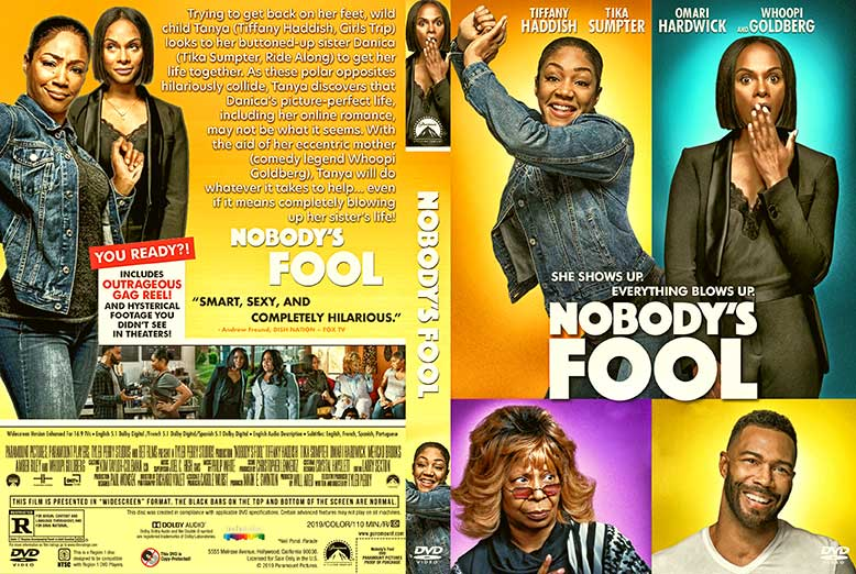 Nobody's Fool 2018 DVD Cover
