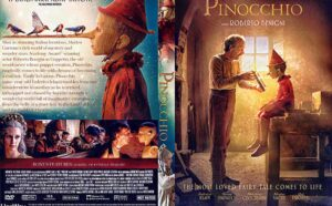 Pinocchio 2020 DVD Cover