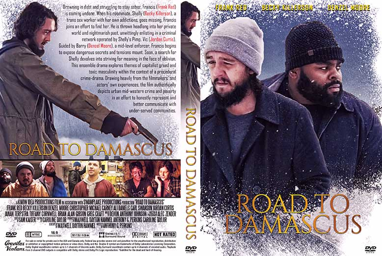 Road to Damascus 2021 DVD Cover