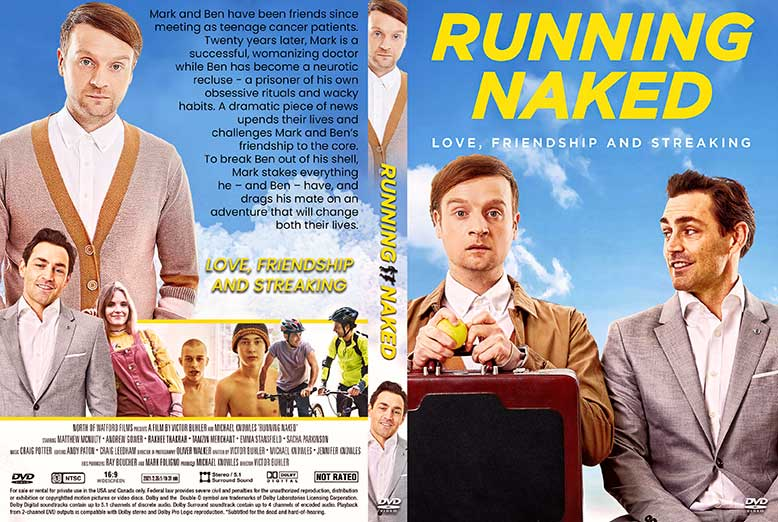 Running Naked 2021 DVD Cover