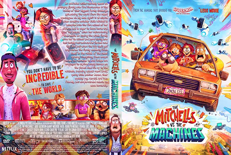 Download The Mitchells Vs The Machines 2021 Free DVD Cover