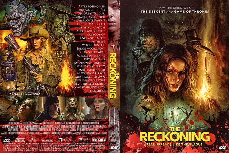 The Reckoning 2021 DVD Cover