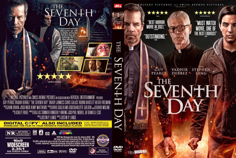 The Seventh Day 2021 DVD Cover