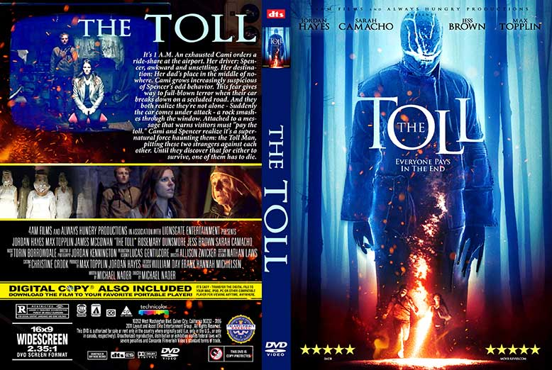 The Toll 2020 DVD Cover