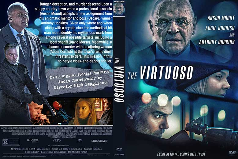 The Virtuoso 2021 DVD Cover