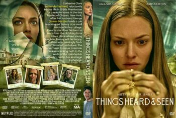 Things Heard and Seen 2021 DVD Cover
