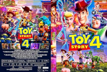 Toy Story 4 2019 DVD Cover