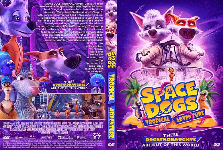 Space Dogs Tropical Adventure 2021 DVD Cover