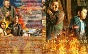 The Marksman 2021 DVD Cover