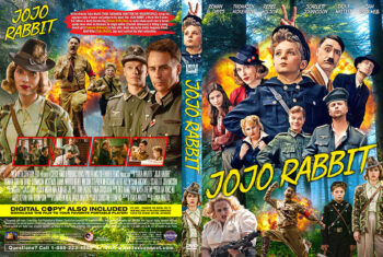 Jojo Rabbit 2019 DVD Cover