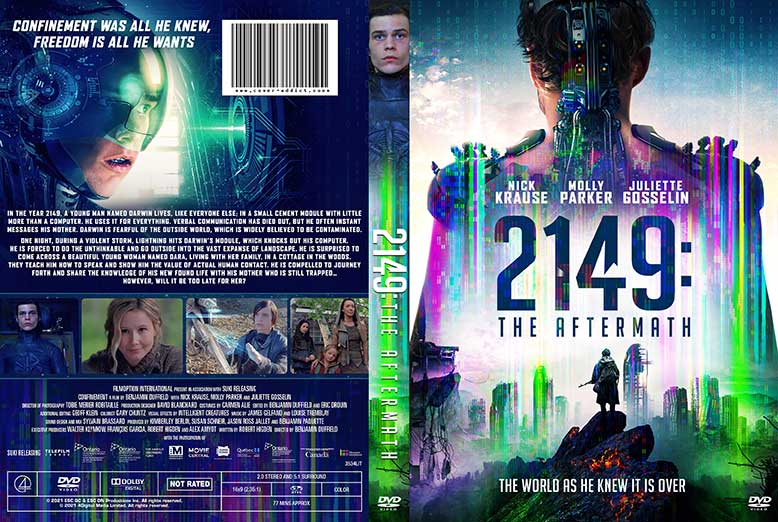 2149 The Aftermath 2021 DVD Cover