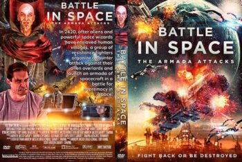 Battle in Space The Armada Attacks 2021 DVD Cover