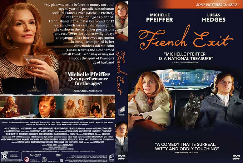 French Exit 2021 DVD Cover