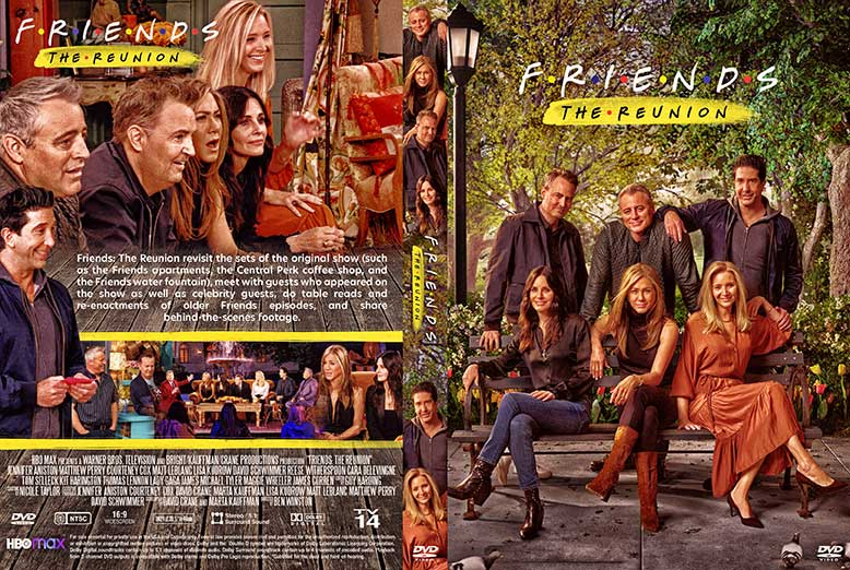 Friends The Reunion 2021 DVD Cover