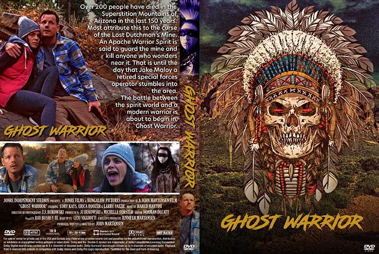 Ghost Warrior 2021 DVD Cover