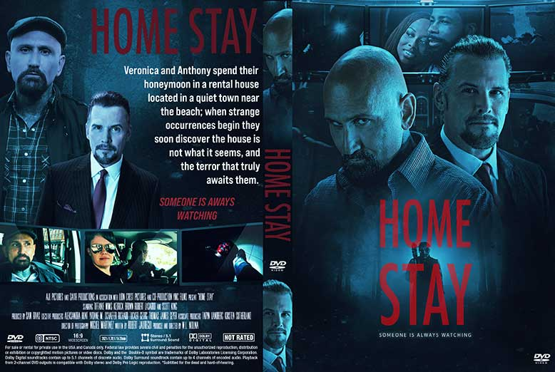 Home Stay 2020 DVD Cover