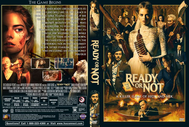 Ready or Not 2019 DVD Cover