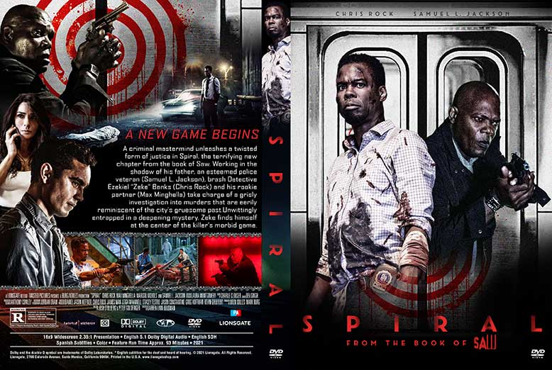 Spiral 2021 DVD Cover