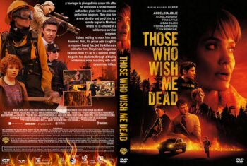 Those Who Wish Me Dead 2021 DVD Cover