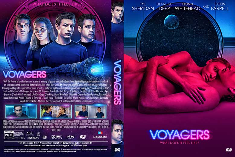 Voyagers 2021 DVD Cover