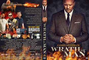 Wrath of Man 2021 DVD Cover