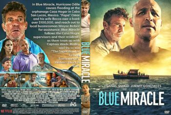 Blue Miracle 2021 DVD Cover