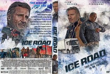The Ice Road 2021 DVD Cover