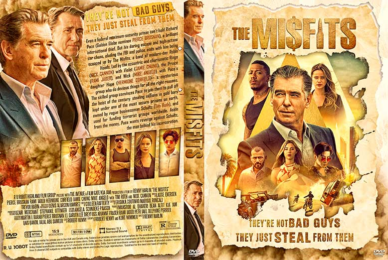 The Misfits 2021 DVD Cover