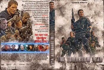 The Tomorrow War 2021 DVD Cover v2