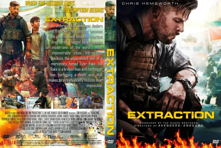 Extraction 2020 DVD Cover