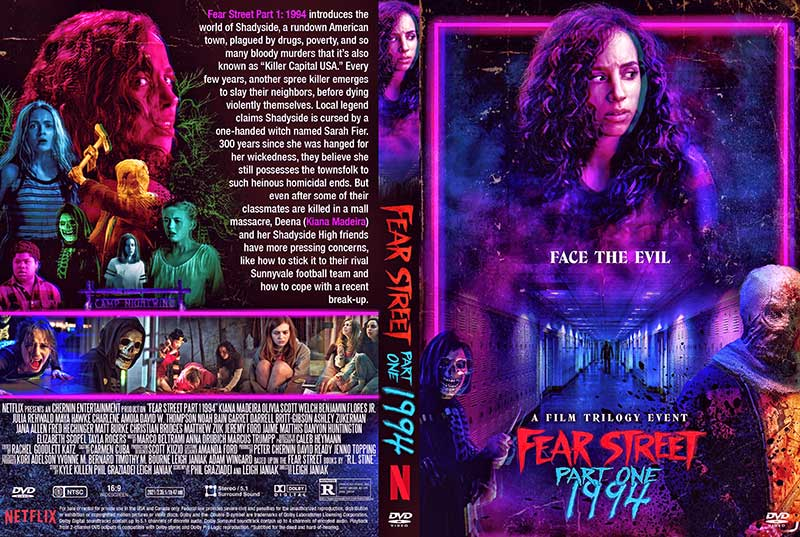 Fear Street Part One 1994 2021 DVD Cover