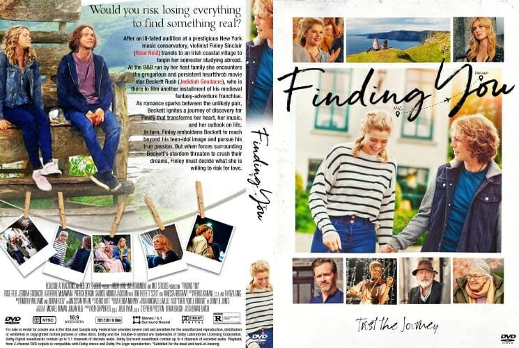 Finding You 2021 DVD Cover