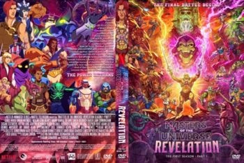 Masters of the Universe Revelation Season 1 Part 1 DVD Cover
