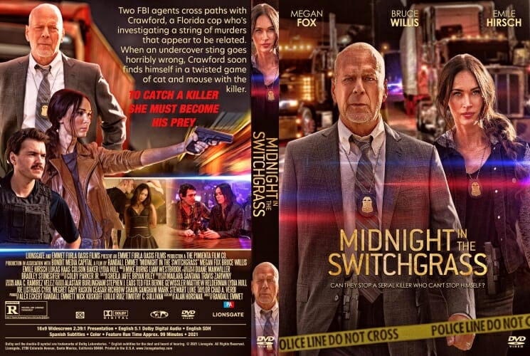 Midnight in the Switchgrass 2021 DVD Cover