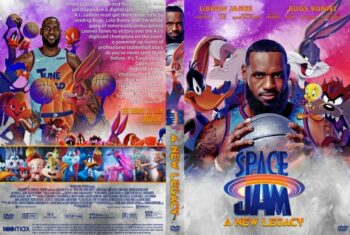 Space Jam A New Legacy 2021 DVD Cover