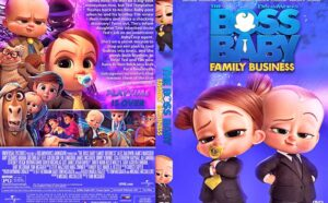 The Boss Baby Family Business 2021 DVD Cover