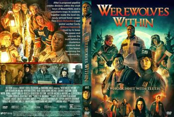Werewolves Within 2021 DVD Cover