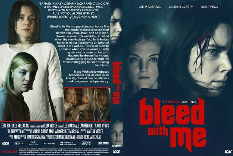 Bleed with Me 2021 DVD Cover