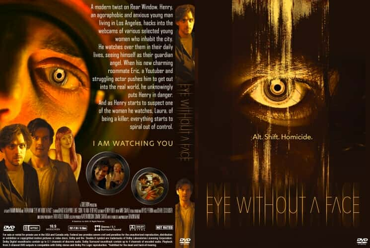 Eye Without a Face 2021 DVD Cover
