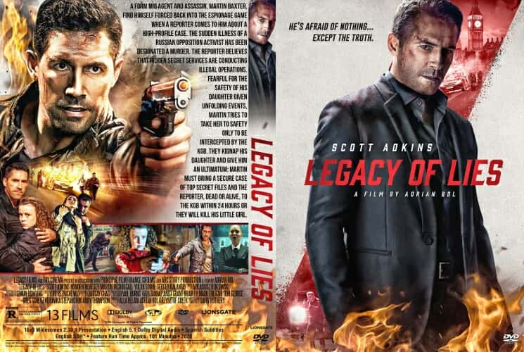 Legacy of Lies 2020 DVD Cover