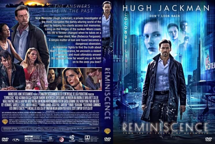 Reminiscence 2021 DVD Cover